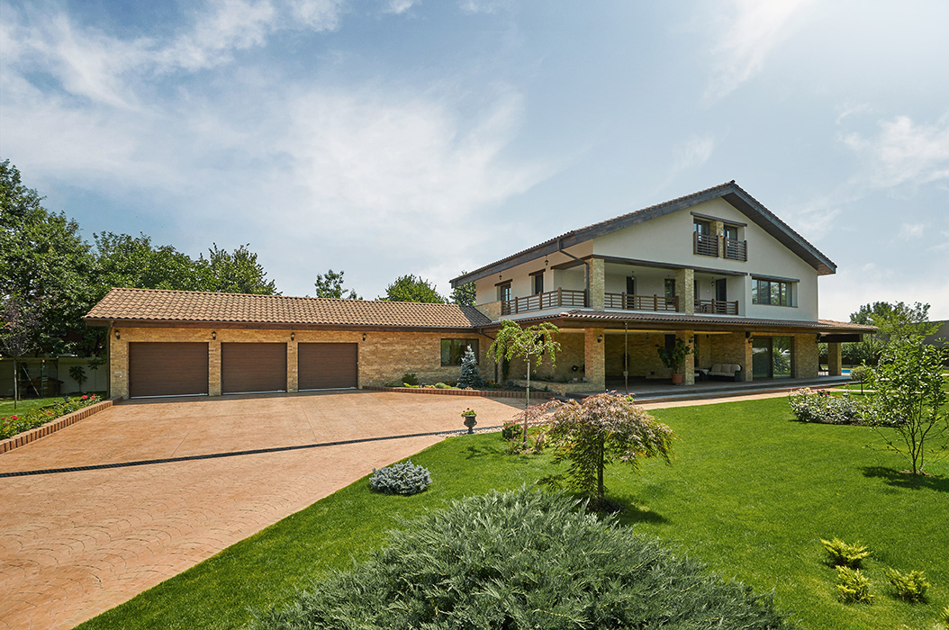 House in pipera - Neo romanian architecture traditional and functional house plans ...